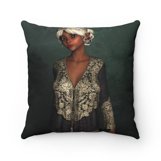 My Fabulous Style Beautiful Woman in the Midst Square Throw Pillow-- Home Decor Fashion Throw Pillow
