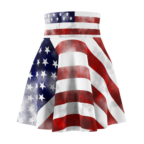 Fashionable Trendy Made to Order United We Stand Women's Skater Skirt-Stylish Skater Skirt