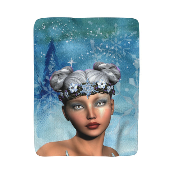 My Fabulous Style Made to Order Fantasy Fairy Sherpa Fleece Blanket-Luxurious Fleece Blanket