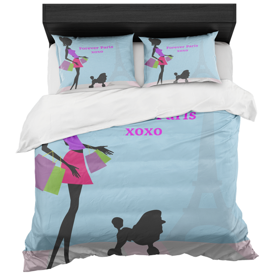 Chic Paris XOXO Duvet Set