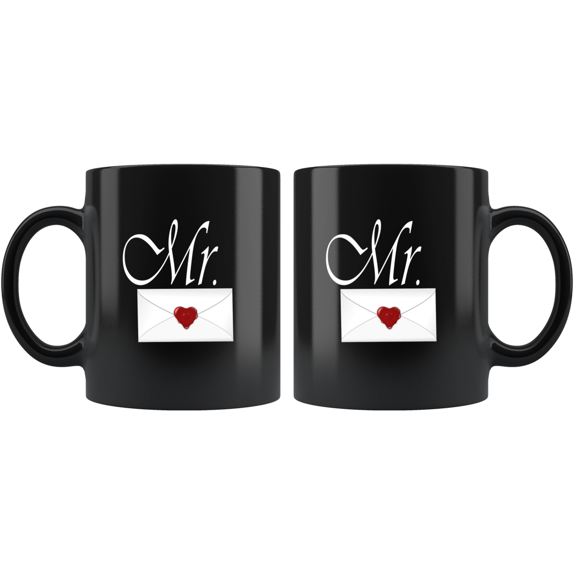 Black Chic 11oz Mr. Coffee Tea Mug