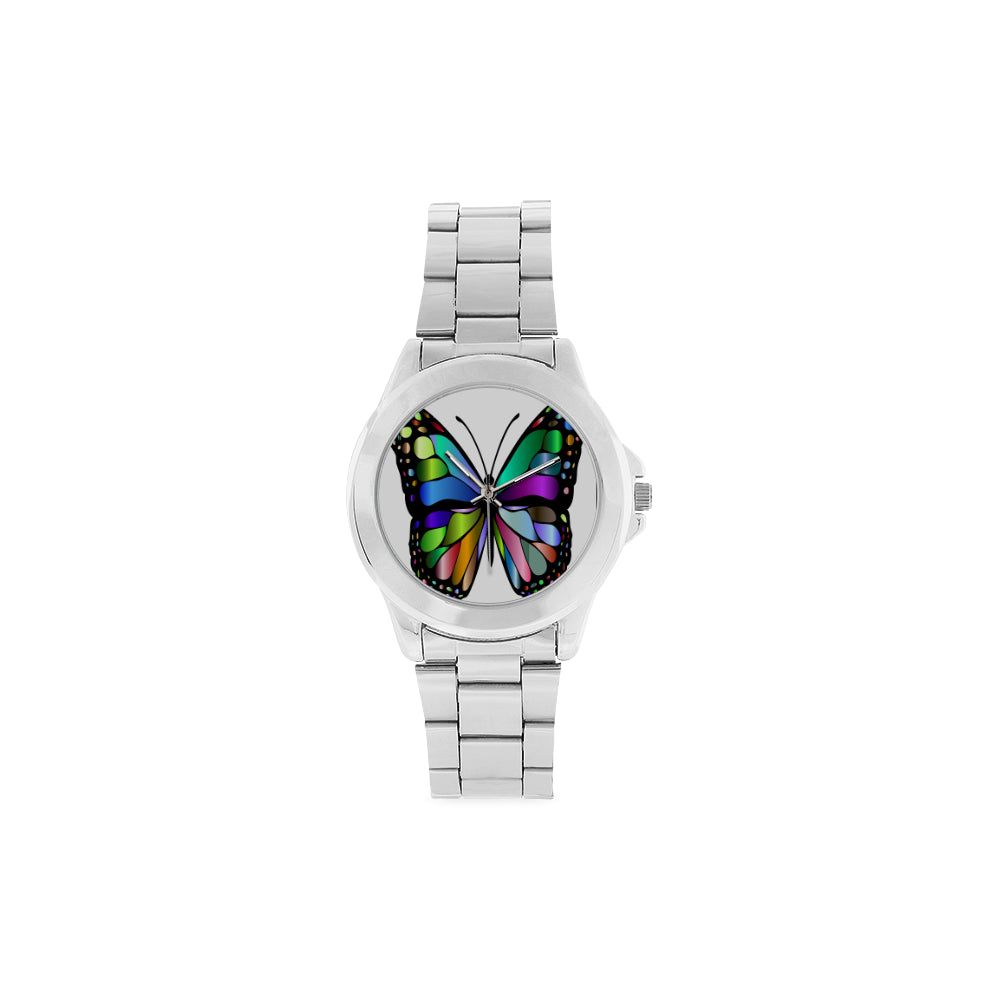 Rainbow Butterfly Watch Unisex