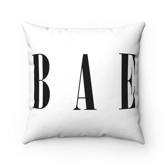 My Fabulous Style Beautiful BAE Square Throw Pillow-- Home Decor Fashion Throw Pillow