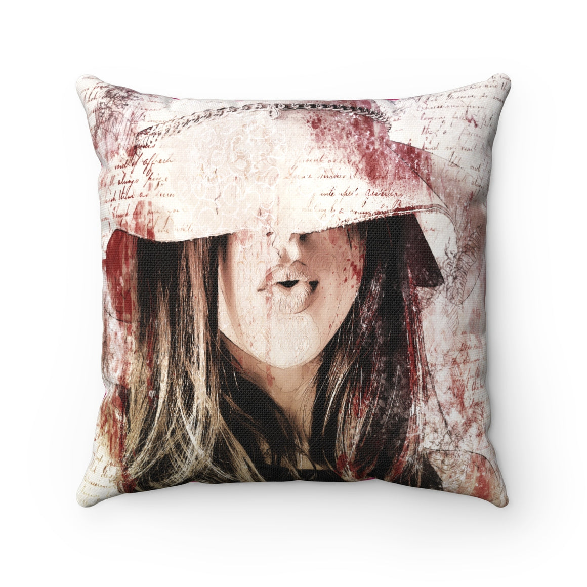 My Fabulous Style High Fashion Sweet Lady Throw Pillow-Home Decor Throw Pillow for Women