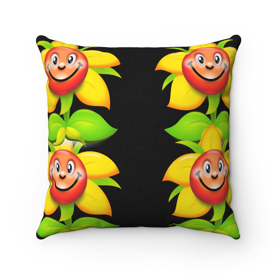 My Fabulous Style Beautiful Kids Flower Power Kid's Throw Pillow-- Throw Pillow for Children