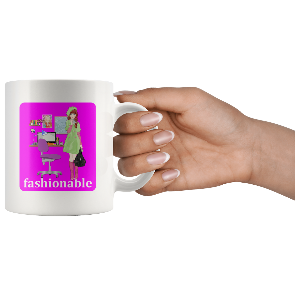Stylish Fashionable Cute Fashion Coffee Tea Mug