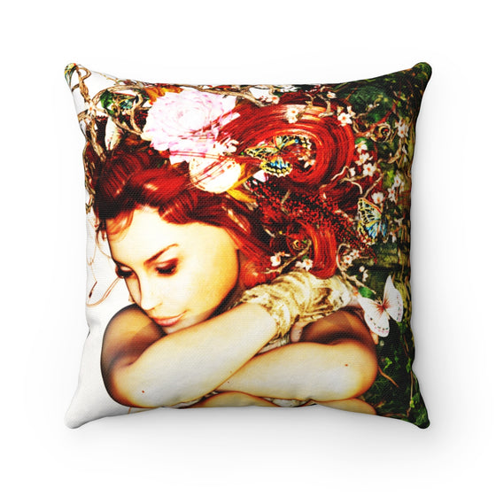 My Fabulous Style High Fashion Resting Fairy Fashion Throw Pillow