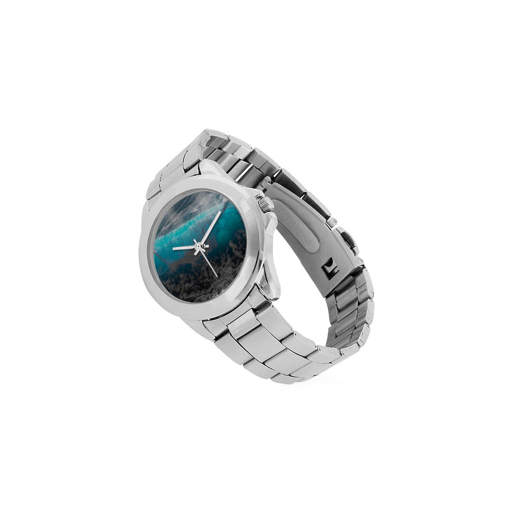 Catch The Blue Wave Unisex Watch
