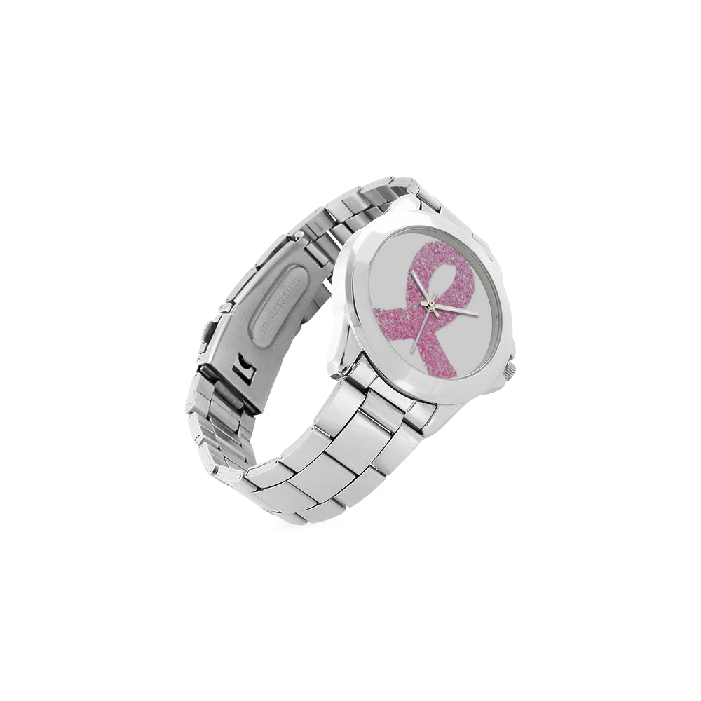 Pink Ribbon Awareness Watch