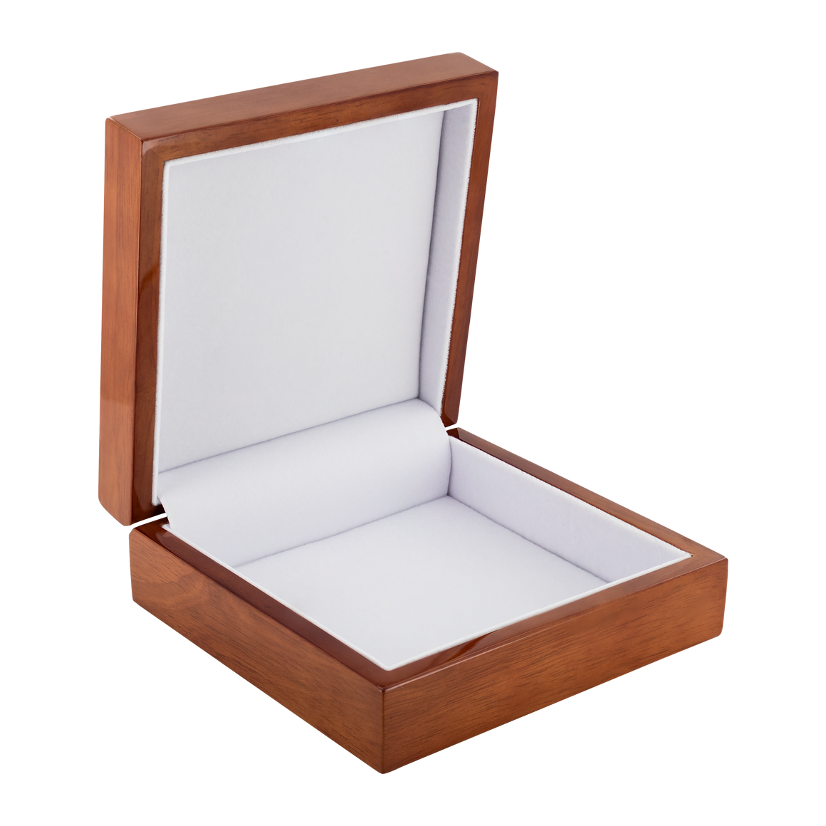 Gorgeous Kiss Kiss Kiss Premium Genuine Wooden Jewelry Box