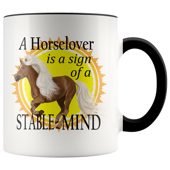 Chic Horse Lovers Stable Mind Coffee Tea Mug