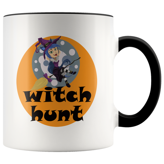 Cute Witch Hunt Halloween Coffee or Tea Mug