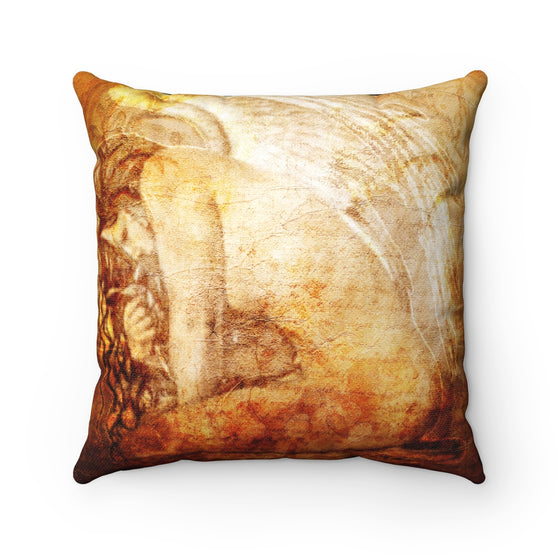 My Fabulous Style Beautiful  Angel in the Wind Throw Pillow-- Home Decor Throw Pillow