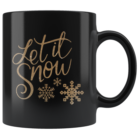 Chic 11oz Let It  Snow Christmas Coffee Tea Mug