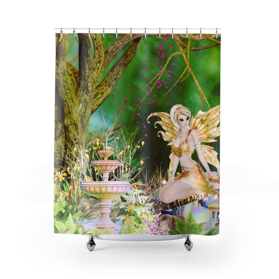 My Fabulous Style Fairyland Shower Curtain--High Fashion Shower Curtains