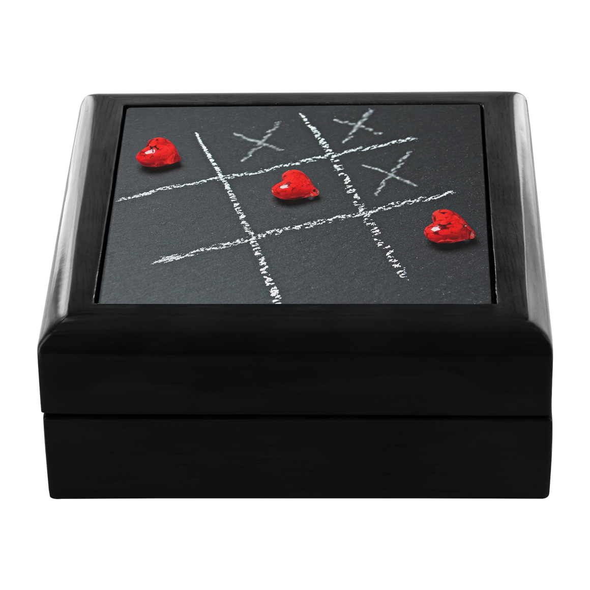 Tic Tac Heart Jewelry Box