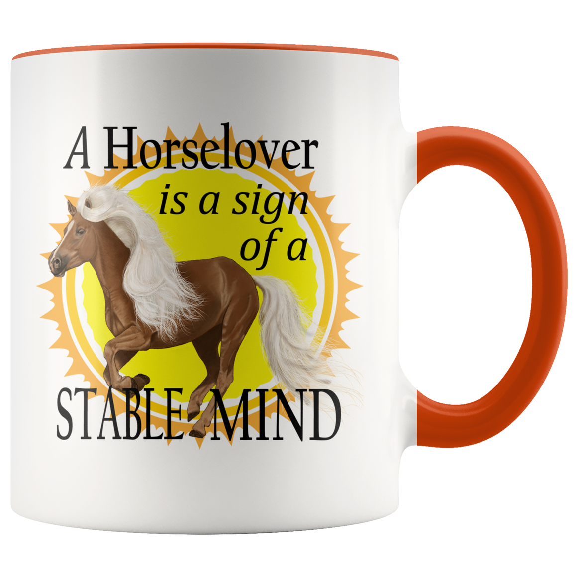 Chic Horse Lovers Stable Mind Best Unique Coffee Mug Tea Cup 2018