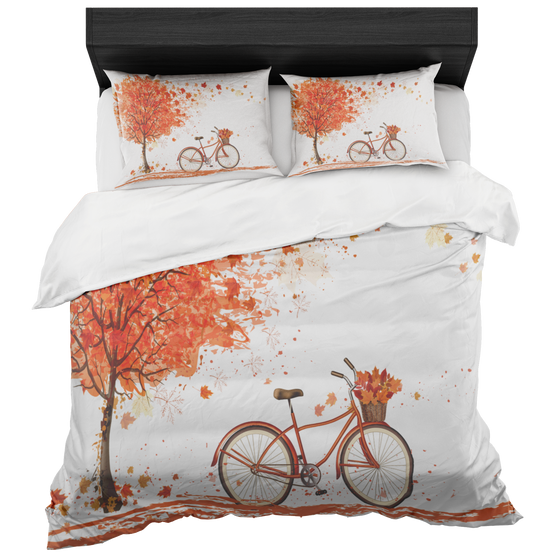 Chic A Fall Day Gorgeous King Or Queen Classic Duvet