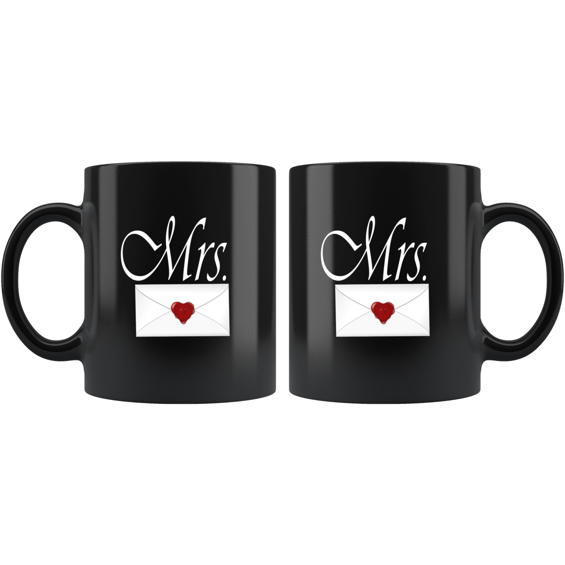 Black Chic 11oz Mrs. Coffee Tea Mug