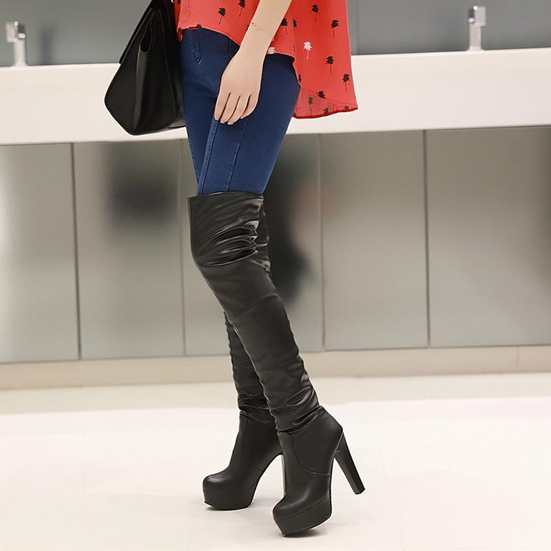 MY FABULOUS STYLE FELLING SEXY OVER KNEE BOOTS