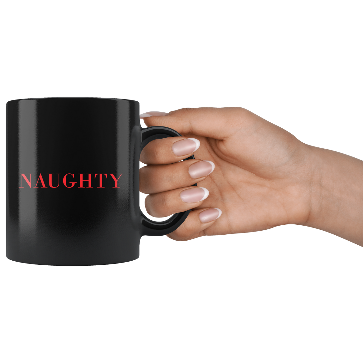 Cute Naughty Christmas Coffee Tea Mug