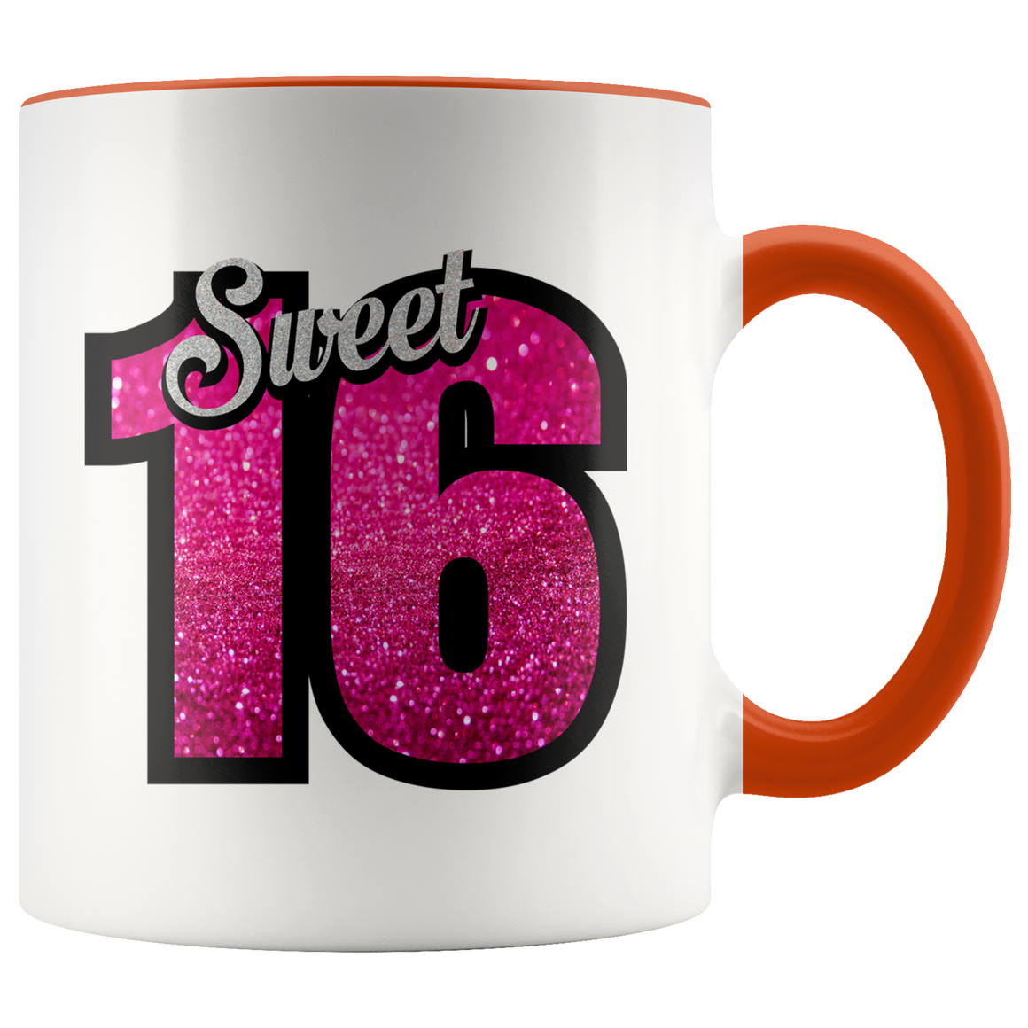 Fun Sweet 16 Birthday Cocoa Mug