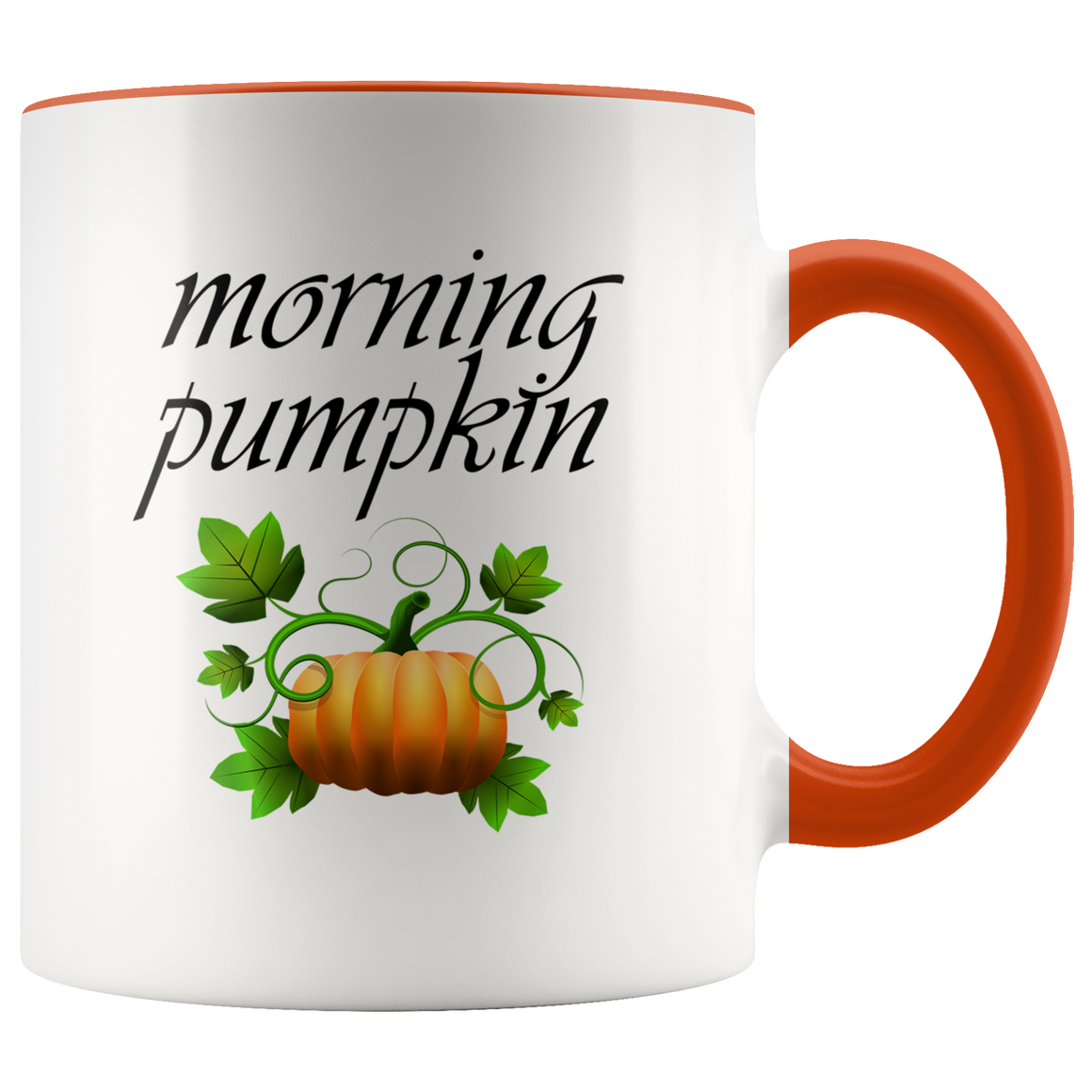 Cute Morning Pumpkin Halloween Coffee or Tea Mug