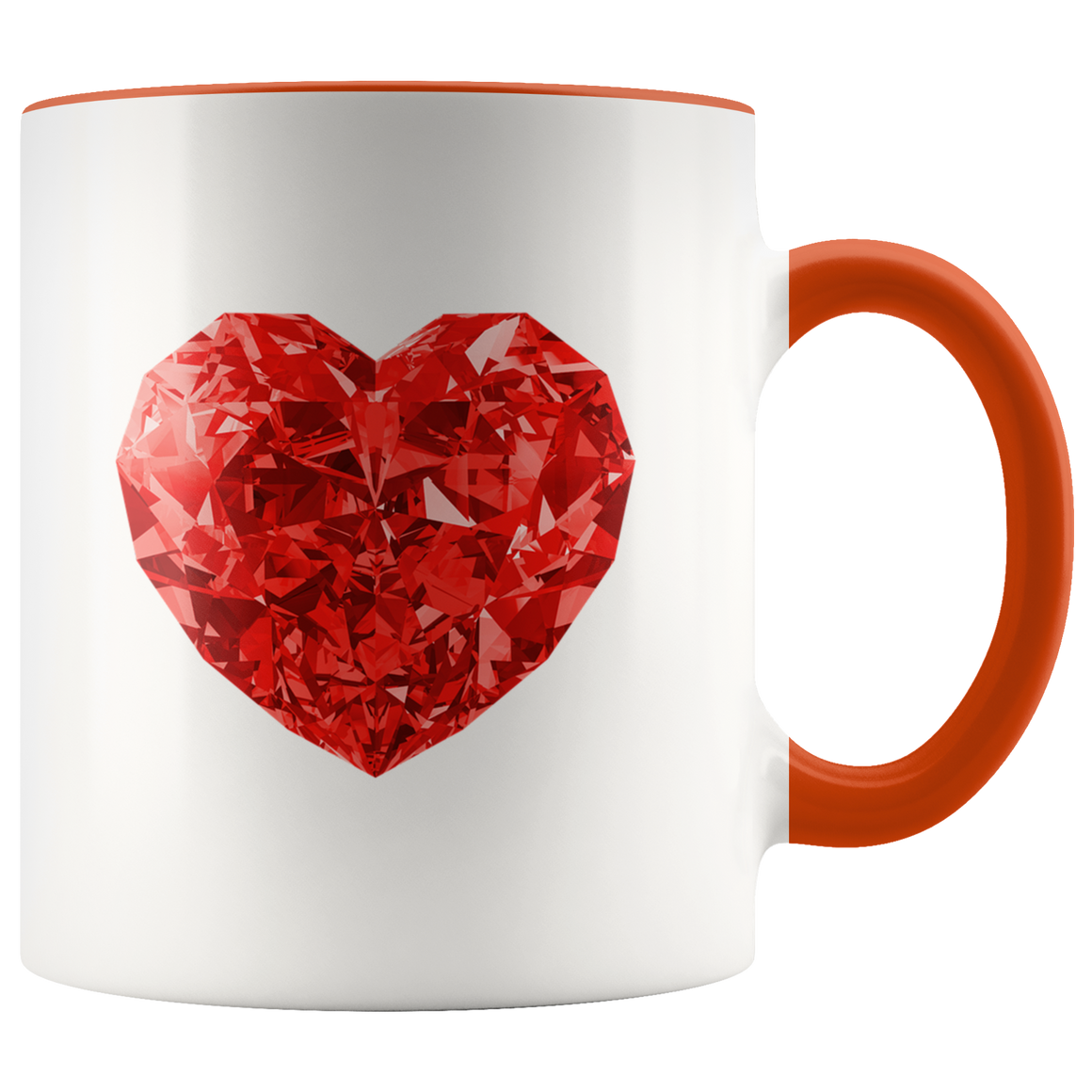 Chic Heart Coffee Tea Mug