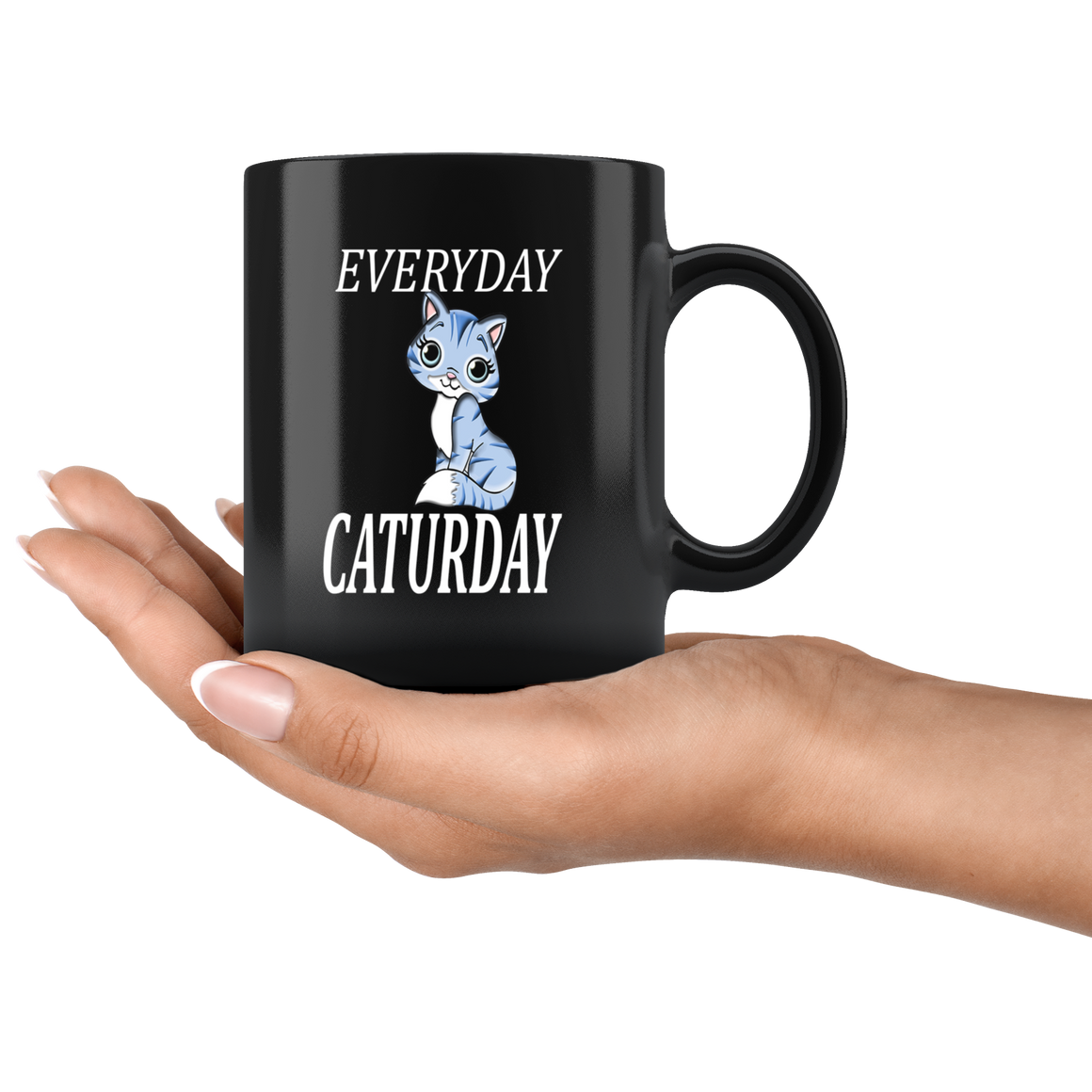 Funny Everyday is Caturday Coffee or Tea Mug