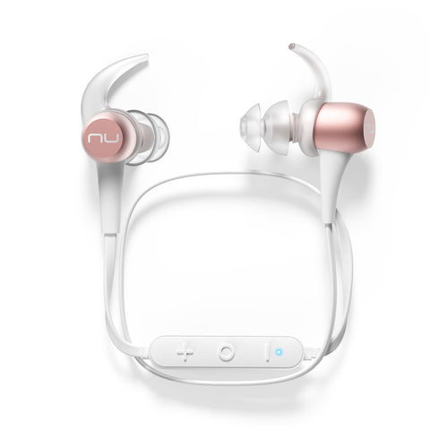 NuForce BE Sport3 Rose Gold earphones