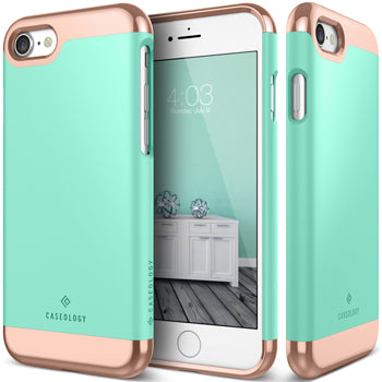 iphone 7 caseology case Savoy series front and back view