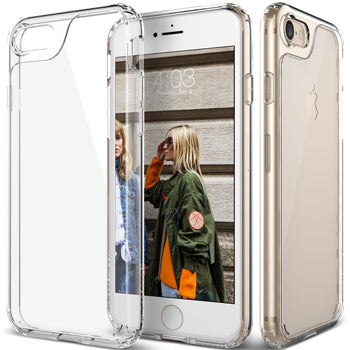 iPhone 7 clear back transparent sheer case