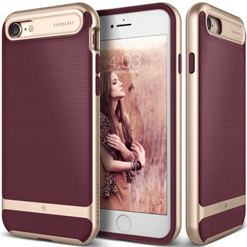 iphone 7 caseology case Wavelength series front and back view