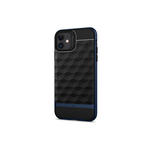 iPhone Cases -     iPhone 11 Parallax  Deep Blue