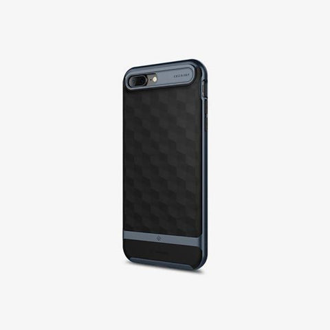 iPhone 7 Plus Parallax Black/Deep Blue