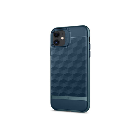 iPhone Cases -     iPhone 11 Parallax  Aqua Green