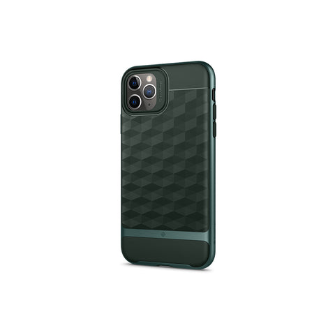 iPhone Cases -     iPhone 11 Pro Max Parallax  Midnight Green
