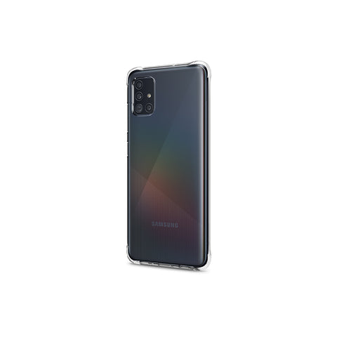 Galaxy A51 Solid Flex Crystal  Crystal Clear