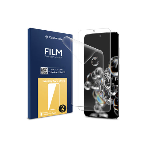 Galaxy S20 Ultra Film Screen Protector 2 Pack