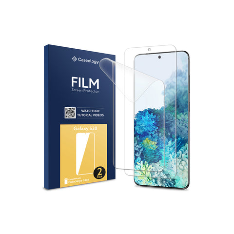 Galaxy S20 Film Screen Protector 2 Pack