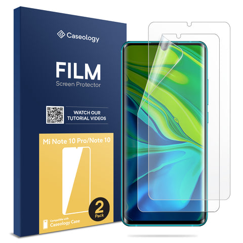 Mi Note 10 Film Screen Protector 2 Pack