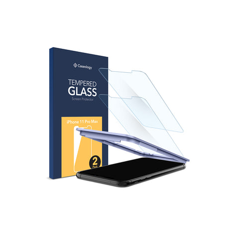 iPhone 11 Pro Max Glass Screen Protector 2-Pack
