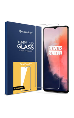 OnePlus 7T Tempered Glass Full Cover Screen Protector