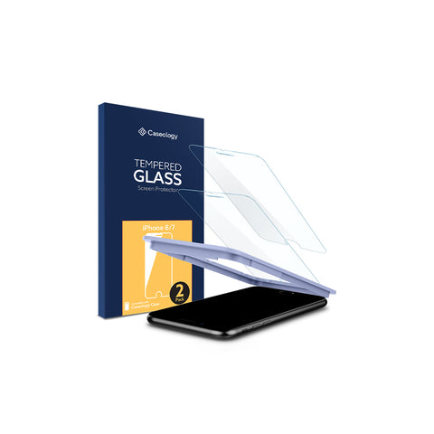 iPhone 8 / 7 Glass Screen Protector (v. 2) 2-Pack