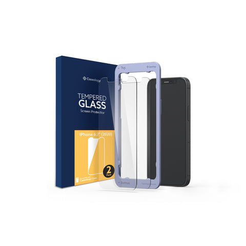 iPhone 12 Pro Max Glass Screen Protector 2-Pack