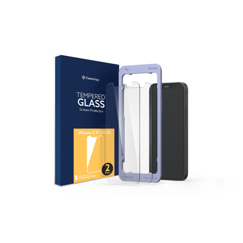 iPhone 12 Mini Glass Screen Protector 2-Pack