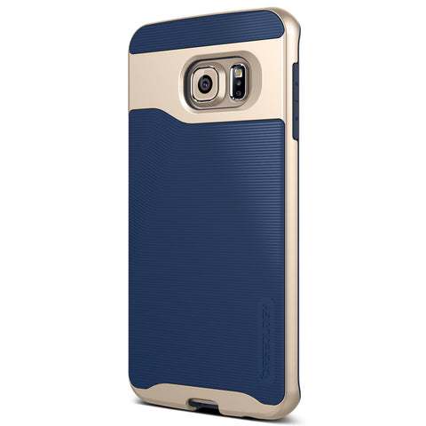 Galaxy S6 Edge Cases Wavelength  Navy Blue