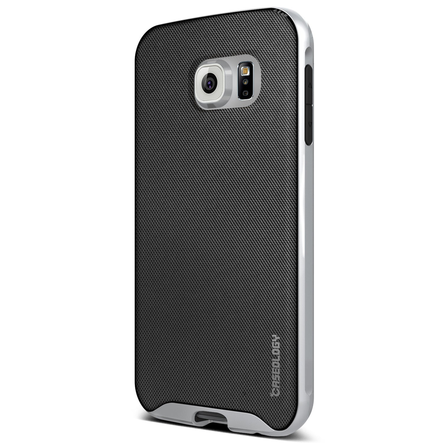 Caseology Galaxy S6 Case Envoy Series in Mesh Silver