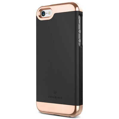 Caseology iPhone SE Case Savoy Series in Black