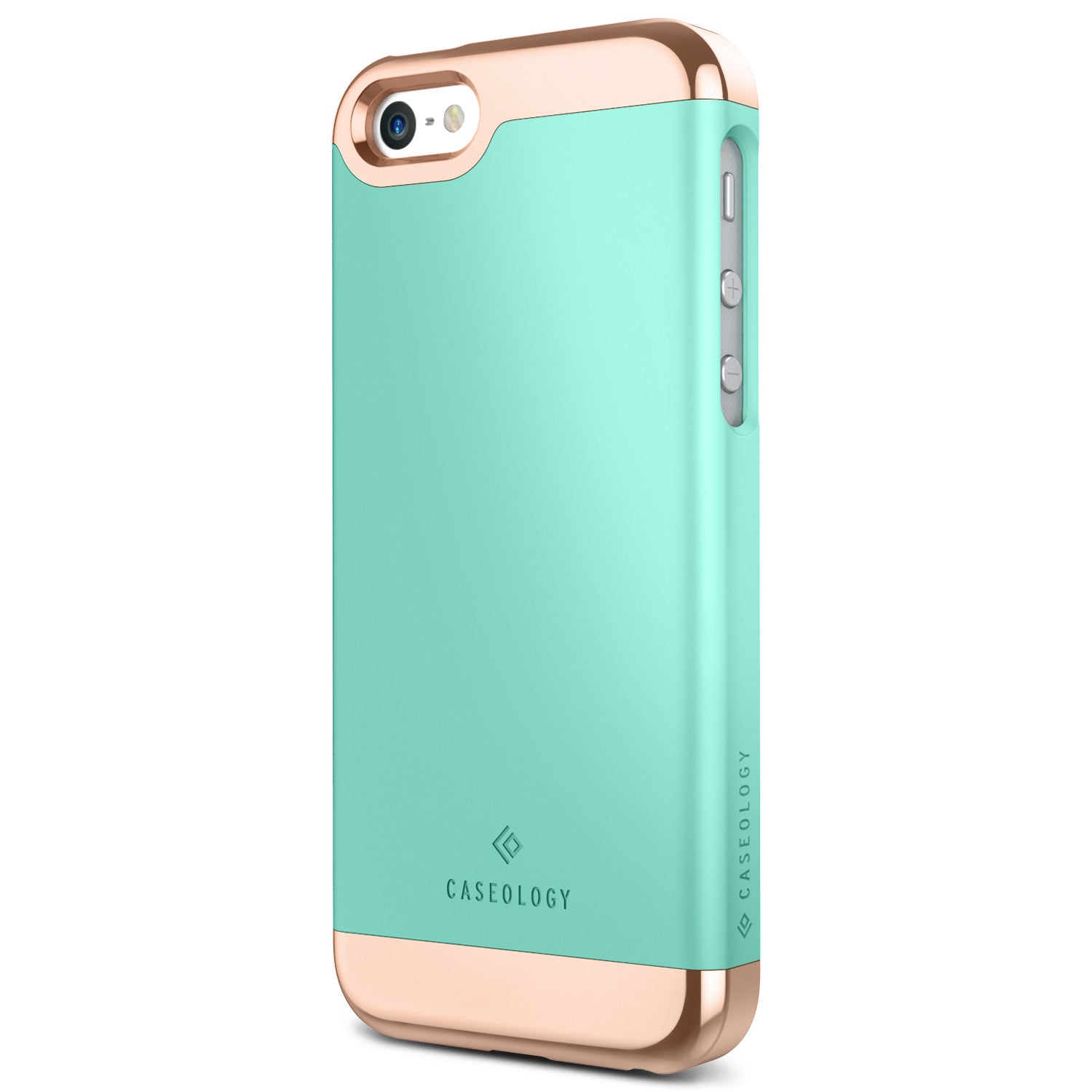 Caseology iPhone SE Case Savoy Series in Turquoise Mint